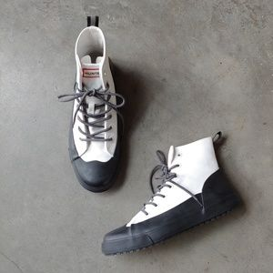 Hunter for Target Dipped Canvas High Top Sneakers